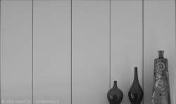Lines and bottles - still life photography